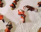 Set of 3 Miniature Koi Fish, Koi Pond, Fairy Pond, Terrarium, Fairy Garden Accessory