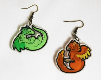Reversible Mythical Creature Charms