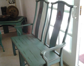 One of a Kind Beautiful Two Seater Bench