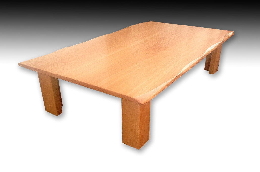 beech wood dining table japanese inspired beech wood dining or coffee table 4404
