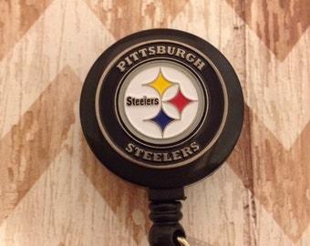 Pittsburg Steelers retractable badge reel
