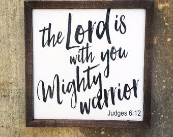 Judges 6:12 sign