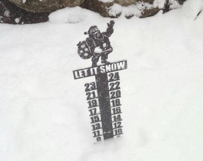 Santa Snowmeter