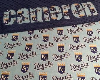 Royals Baby Blanket, Royals minky blanket, Personalized Blanket, Name blanket, Royals baby