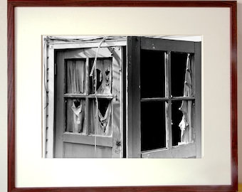 Curtains. Fine Art Photograph. Free Shipping in US. Available Framed or Unframed.