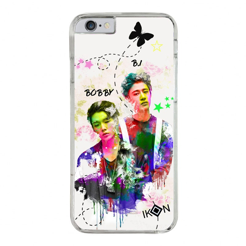 kpop iphone cases bobby b i ikon kpop phone for iphone by kpopinhandmade 9060