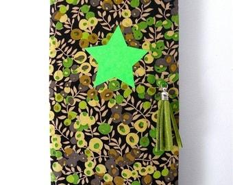 Adressbook green neon Liberty