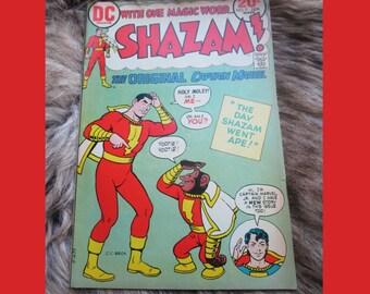 VINTAGE Comic Book DC Shazam Comic Book #9 January Year 1974