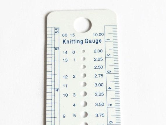 Knitting Conversion Chart Gauge Rebellions