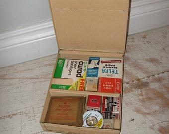 vintage bauer & black first aid box, first aid kit,