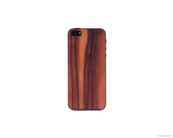 Real Rosewood iPhone 5 / 5s 4 / 4s Wood Skin