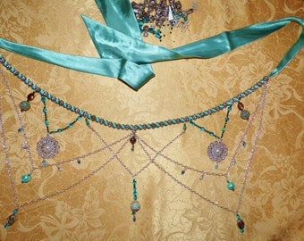 Hip Scarf, Belly Chain, Belly Dance Belt