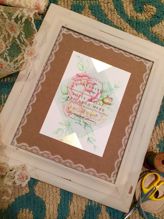 dessin s la main mariage invitation souvenir avec pivoines. Black Bedroom Furniture Sets. Home Design Ideas
