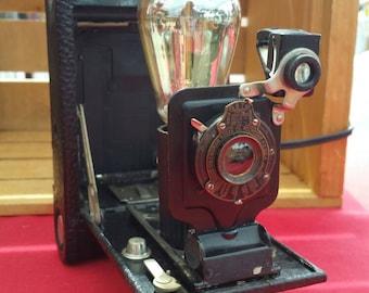 Vintage Kodak Edison Camera Lamp