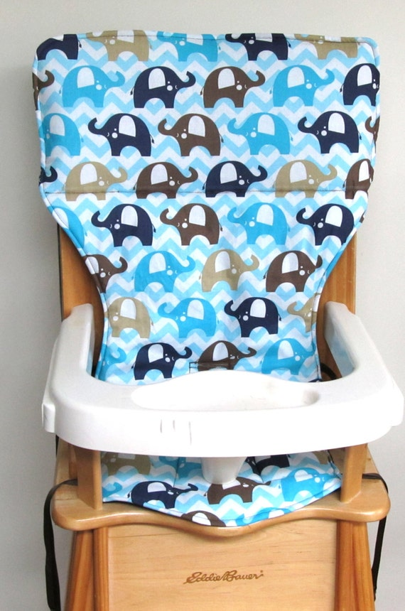 High Chair Cover Baby Accessory Eddie Bauer Wooden High