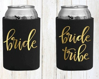 Bride Tribe Beer Cozies Bachelorette Party