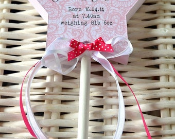 New Baby Personalised Fairy Wand