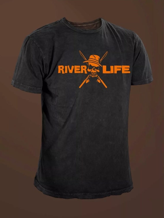 River Life Funny Fishing T Shirt