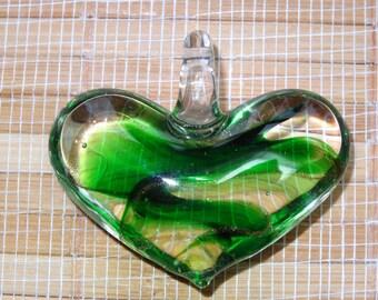 Lamwork Heart Pendant