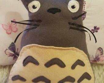 Small Felt Totoro Plush
