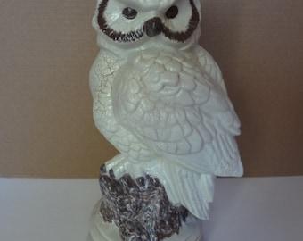 Vintage Ceramic Owl (Shabby Chic)