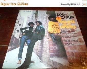 Save 70% Today Vintage 1968 LP Record Diana Ross and the Supremes Love Child Excellent Condition Motown Records 670
