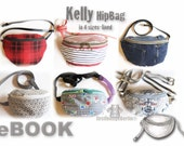 US-Kelly eBook HipBag Hip pocket Pocket Pouches PDF-file Sewing instruction & Pattern in 4 sizes, firstloungeberlin Child Teens Mr. Mrs.