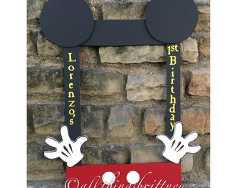 Mickey Mouse Photo Booth Prop