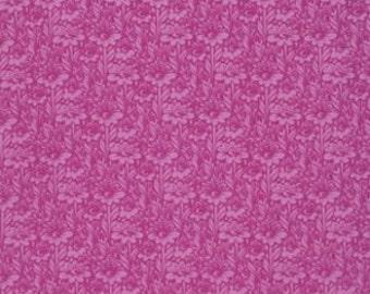 True Colors Tula Pink Daisy Buds Fuchsia - 1/2yd