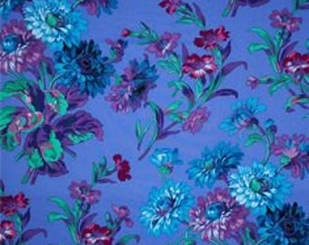 Kaffe Fassett Collective Anne Marie Purple - 1/2yd