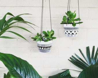 SPECIAL Any 2 medium hanging planters