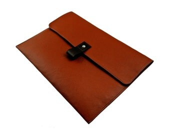 "13"" Leather Macbook Pro Case - Tan"