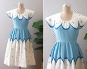 capricieux dress //  vintage 1950s cotton dress