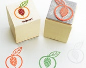 Stamp with peach Apen