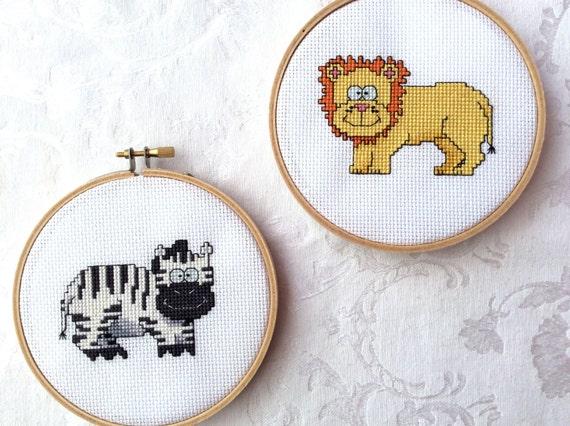 Knitting Room Fond Du Lac : Jungle friends cross stitch eight package pdf pattern