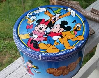 Collectible Walt Disney Cookie Tin
