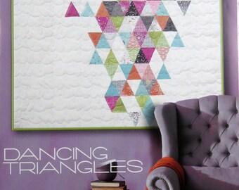 Dancing Triangles Quilt Pattern - Zen Chic - Brigitte Heitland - Moda - Flow- DTQP