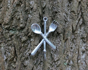 """Shop """"fork and spoon wall decor"""" in Storage & Organization"""