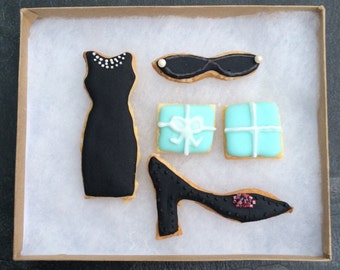 Breakfast At Tiffany's - Iced Biscuits/Cookies