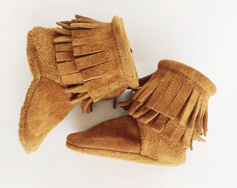 Sienna Classic Moccasin Boots