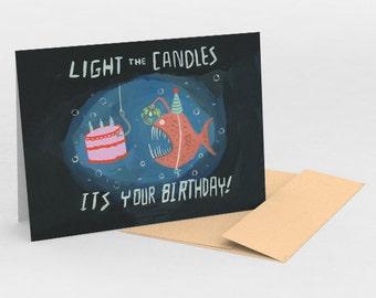Deep Sea Birthday!