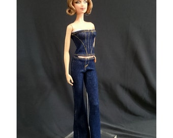 Dolls tops + pants for Muse barbie, Barbie, FR,Fashion Royalty doll- No.04129