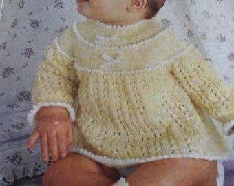 vintage angel top and bootees pattern