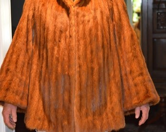 Mink Coat, Size Large