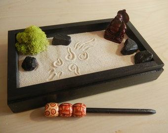 zen garden rake etsy. Black Bedroom Furniture Sets. Home Design Ideas