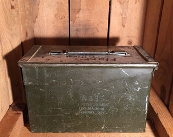 Ammunition Box with Original Paint