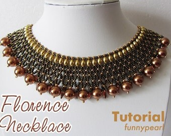 Necklace Florence. Tutorial PDF