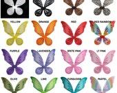 Fairy Wings . Pixie Wings . Tinkerbell Wings . Halloween Wings . Fits Girls . Teens . Some Adults