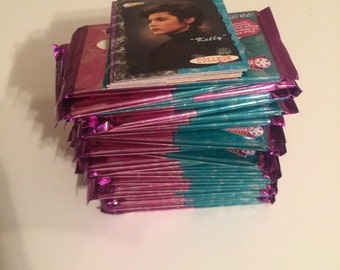 1994 Saved by the Bell College Years 25 Trading card Packs!