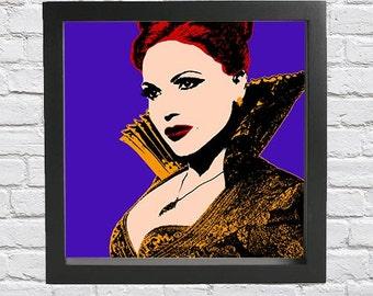 Evil Queen pop art print